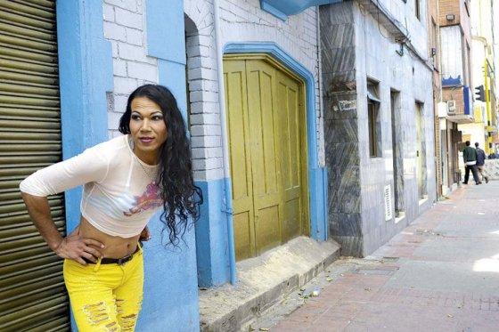 Nikoll es activista trans a favor de los derechos de las trabajadoras sexuales desde hace 11 años. / Pamela Aristizábal