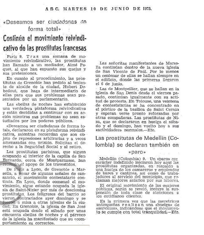putas en francia derechos de las prostitutas