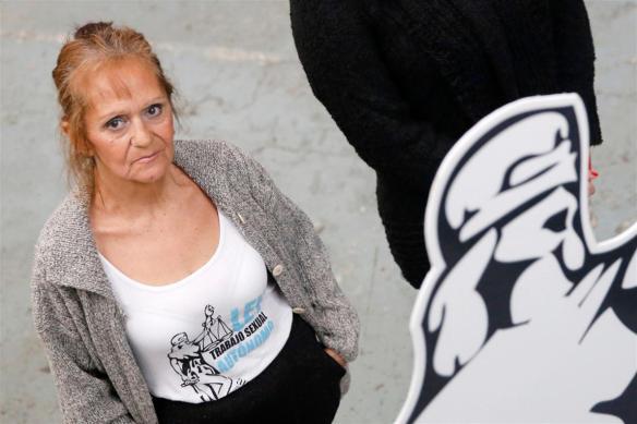 María Cristina y su lucha incansable por la regulación del trabajo sexual autónomo.Foto:Maxie Amena