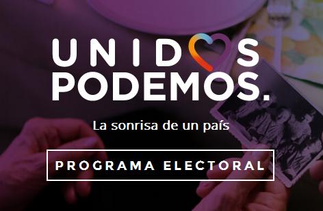 Programa electoral de Unidos Podemos