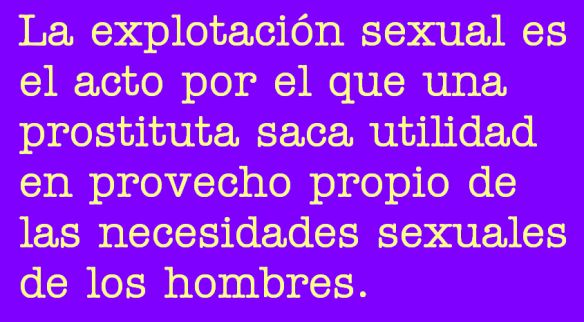 Explotación sexual