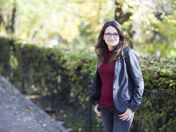 Mónica Oltra posa para EL ESPAÑOL en Madrid. Jorge Barreno